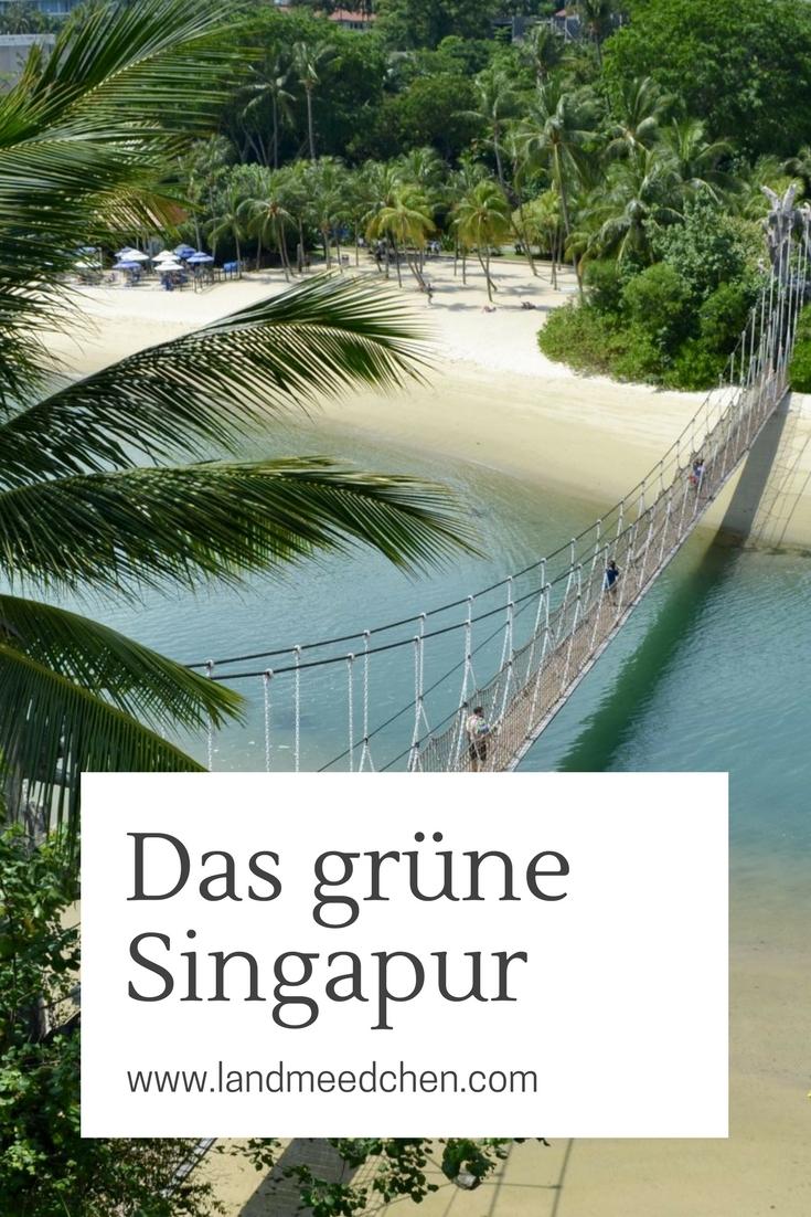 Das grüne Singapur Pinterest