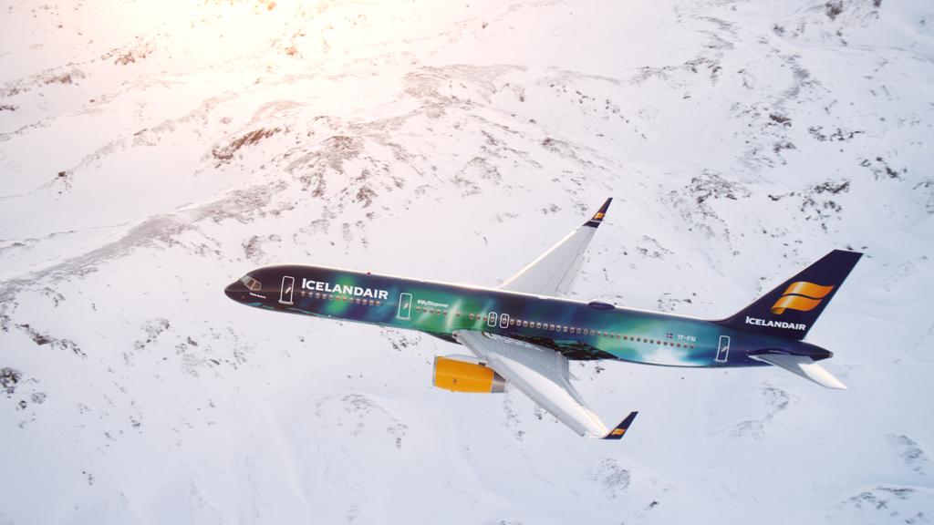 Hekla Aurora Icelandair
