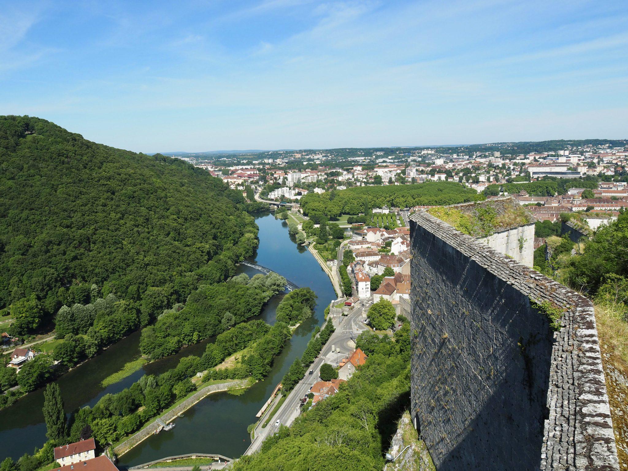 Wehrmauern Zitadelle Besancon
