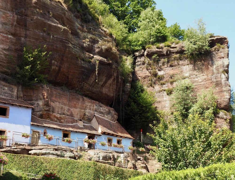 Auf Hausbesuch bei Felsenkäthe in den Maisons des Rochers