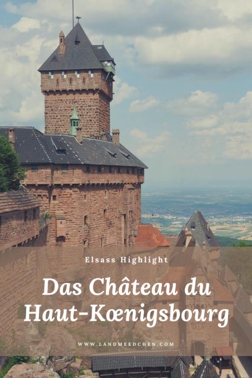 Château du Haut-Kœnigsbourg Pinterest