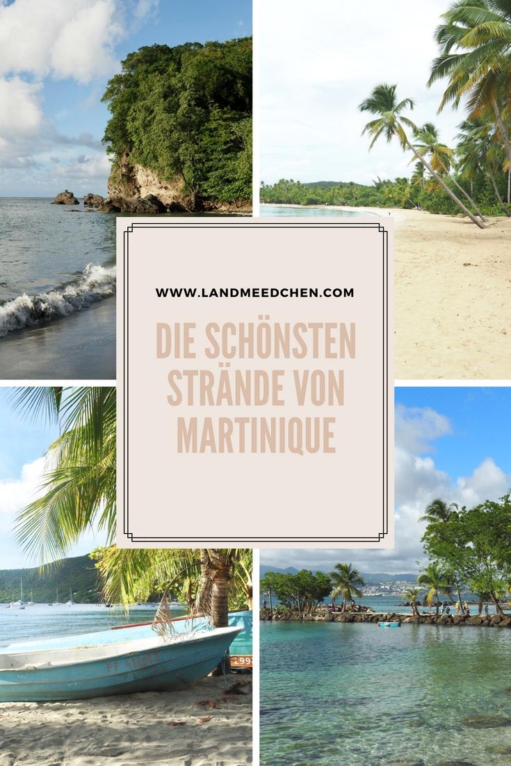 Die schönsten Strände von Martinique Pinterest