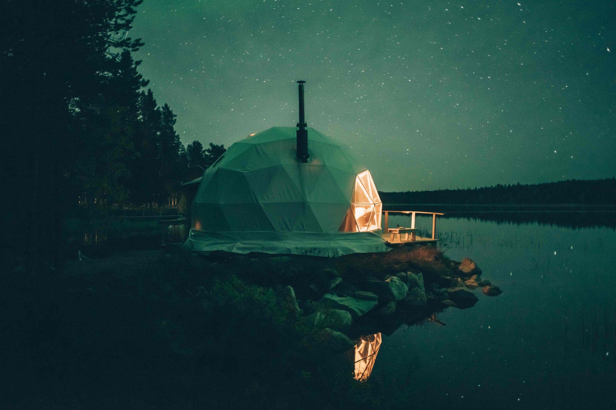 Finland Yllas aurora