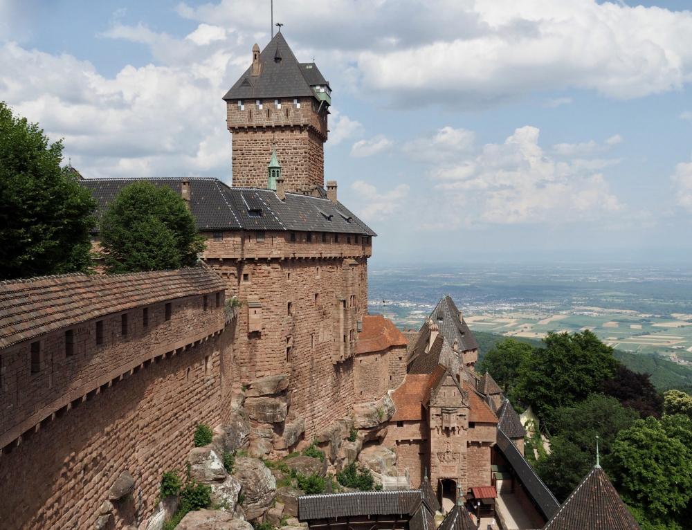 Zu Besuch auf dem Château du Haut-Kœnigsbourg