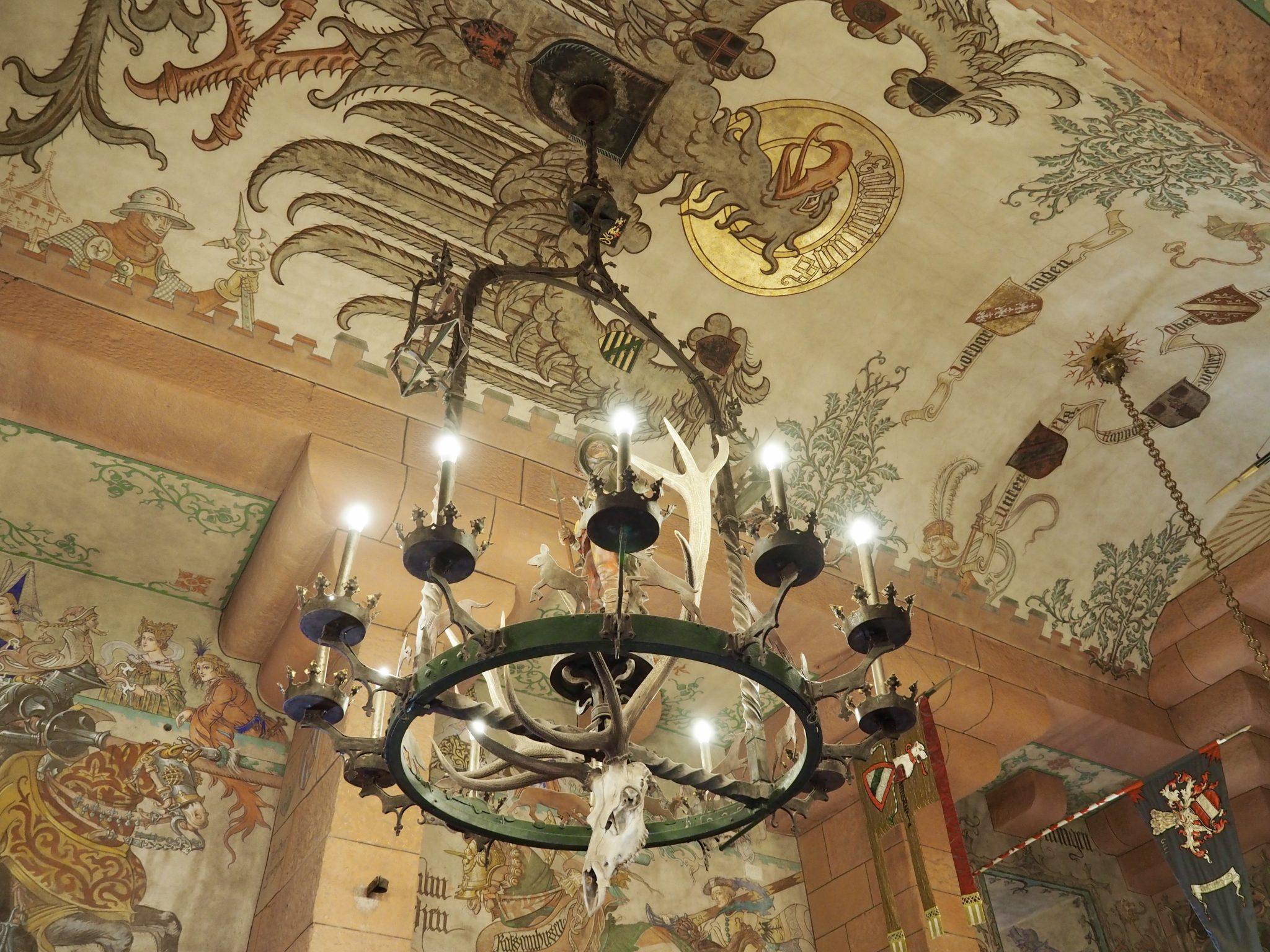 Mittelalterlicher Saal Hohkoenigsburg