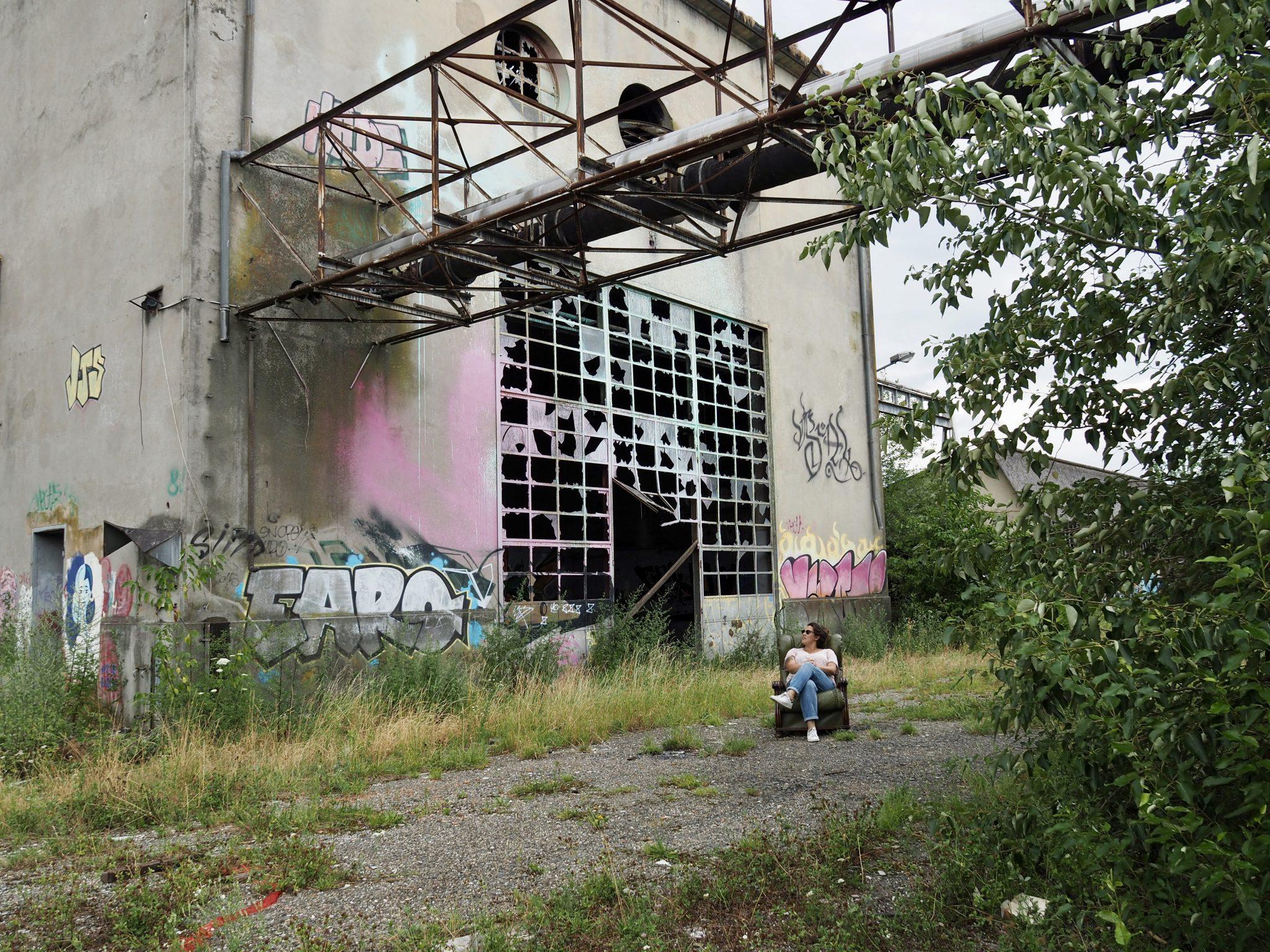 Lagerhalle Graffiti