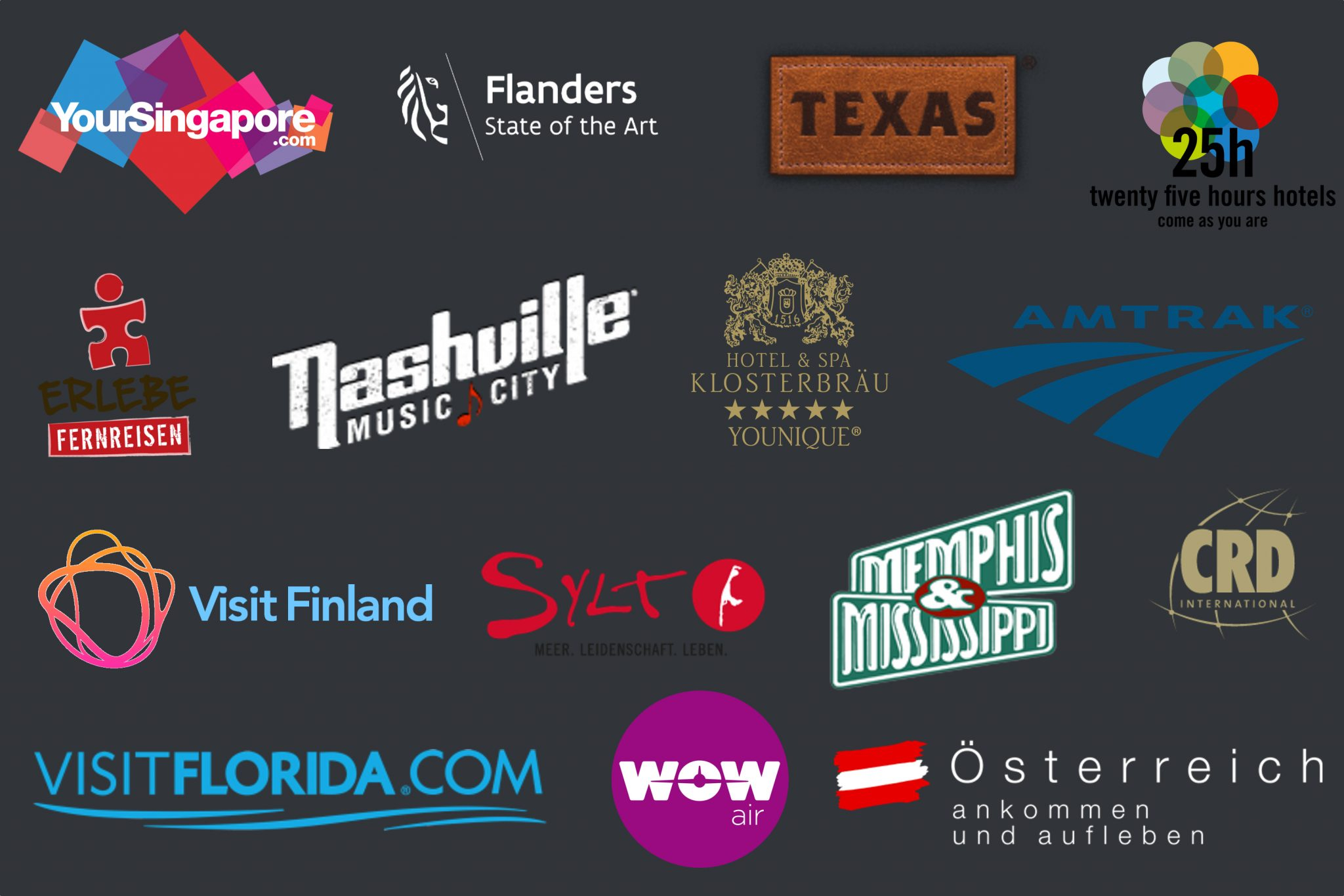Reisepartner Logos 0118
