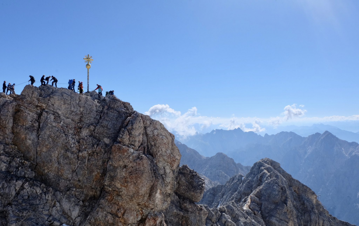 Zugspitze Gipfe