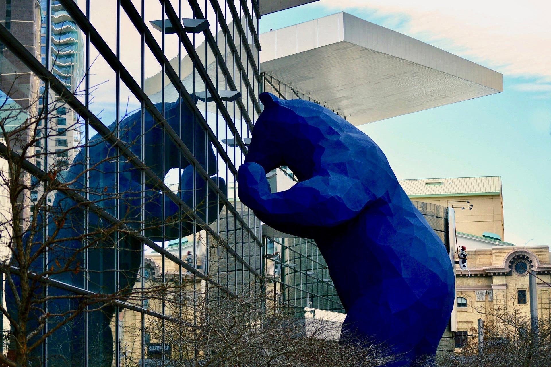 Big Blue Bear Denver