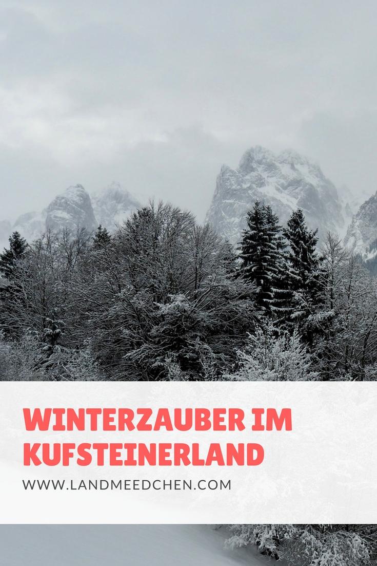 Winterzauber Kufsteinerland Pinterest