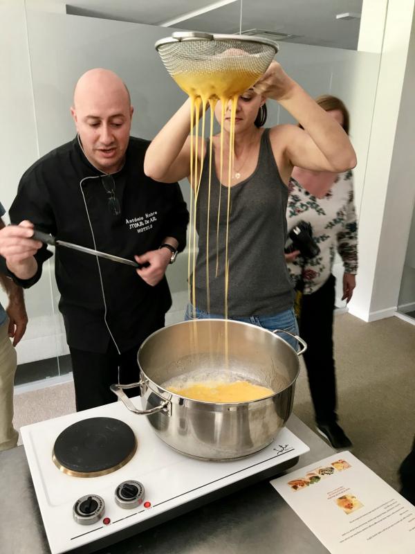 M'AR De AR Muralhas Cooking