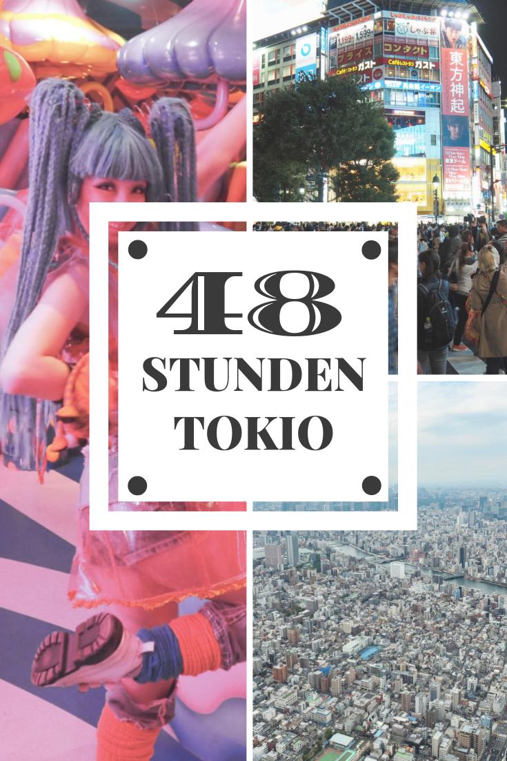 48 Stunden Tokio Pinterest