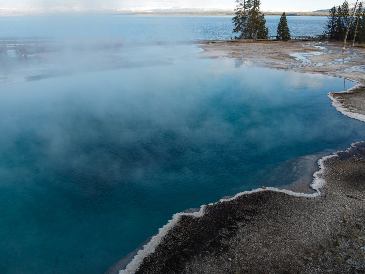 West Thumb Yellowstone National Park