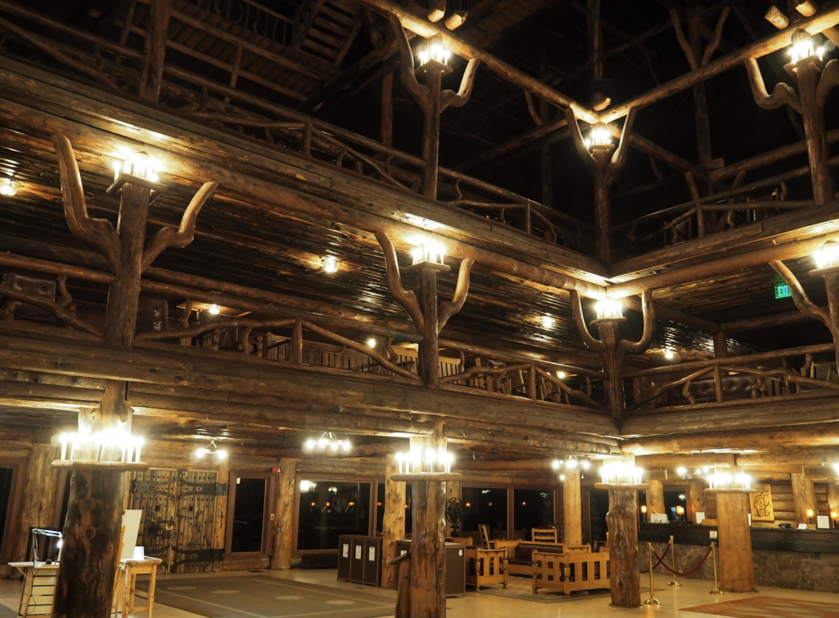 Old Faithful Inn Yellowstone National Park