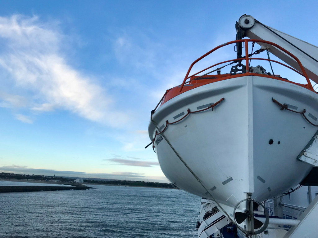 DFDS Amsterdam Newcastle