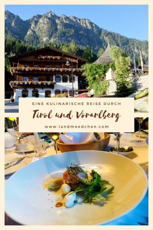 Tirol und Vorarlberg kulinarisch Pinterest