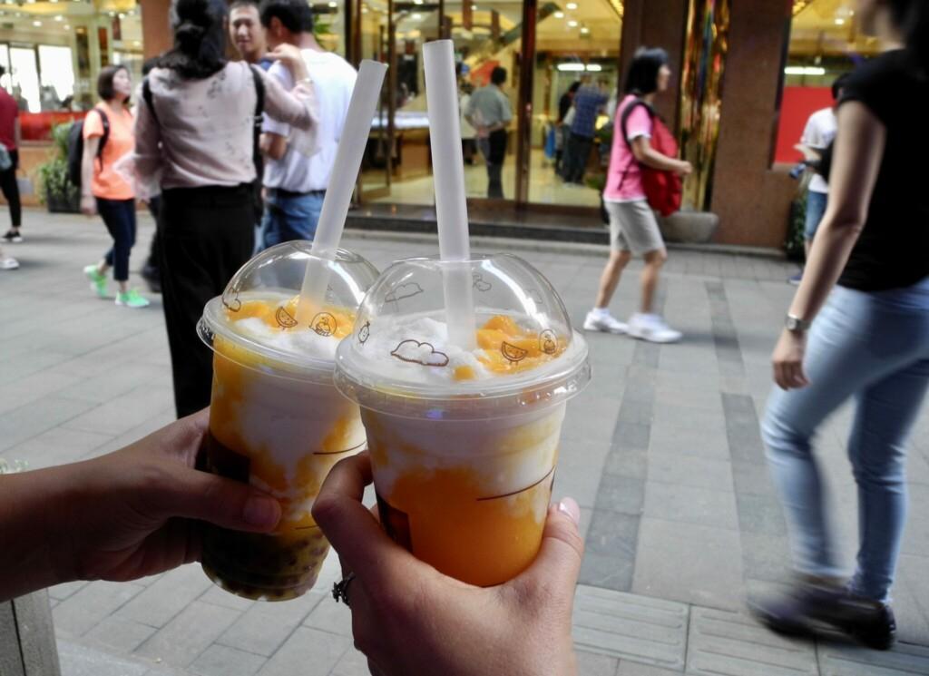 Kokos Mango Shake Shanghai Altstadt