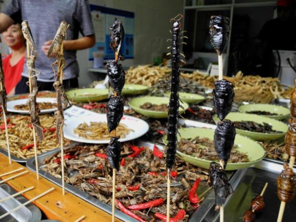 Wasserdorf Zhujiajiao Shanghai Food
