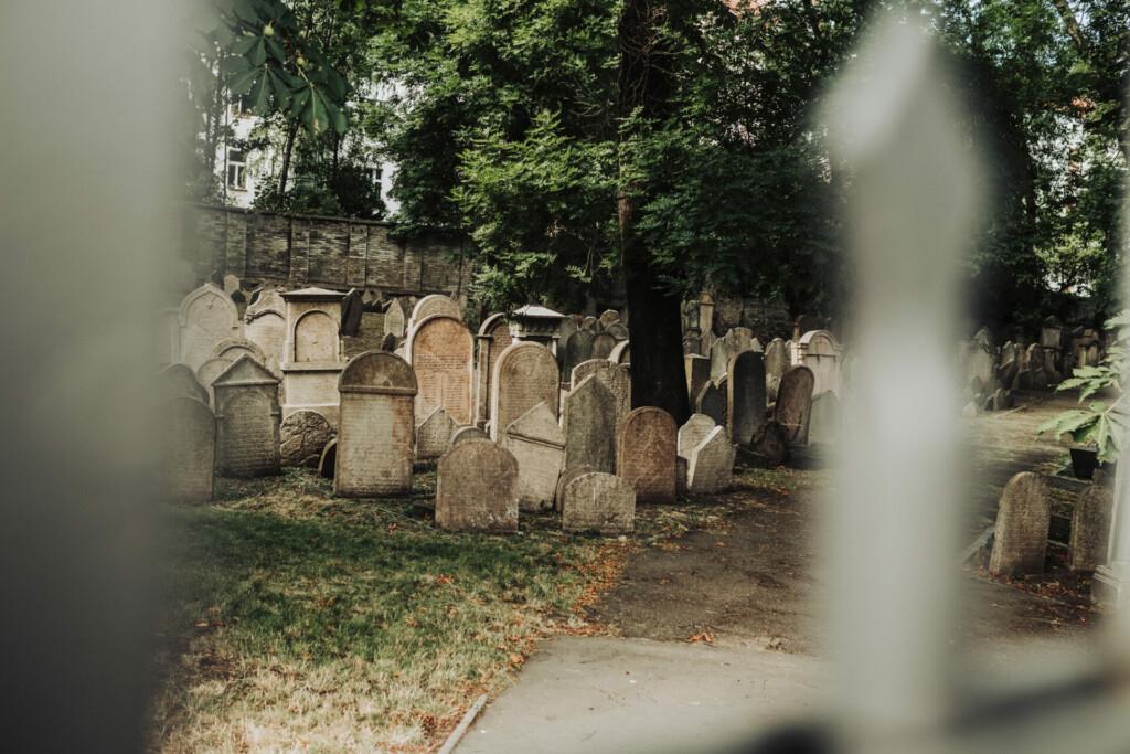 Jüdischer Friedhof Prag Tschechien