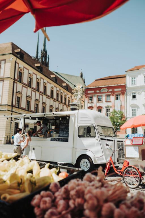 Platz der Freiheit Brno Tschechien