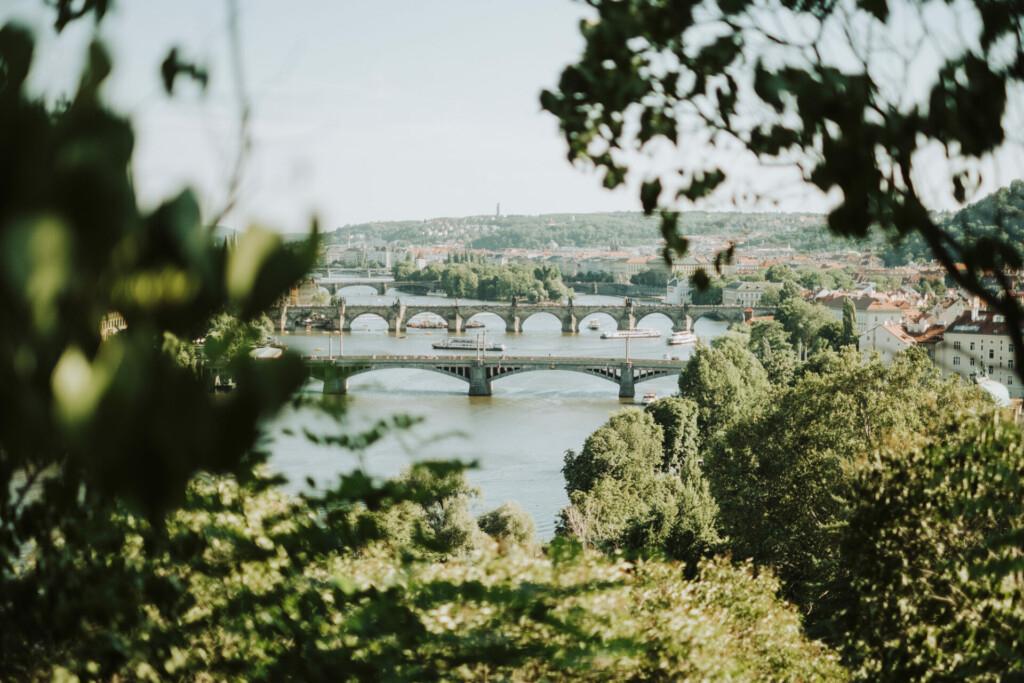 Brücken Moldau Prag Tschechien