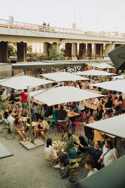 Manifesto Florenc Food Market Prag Tschechien