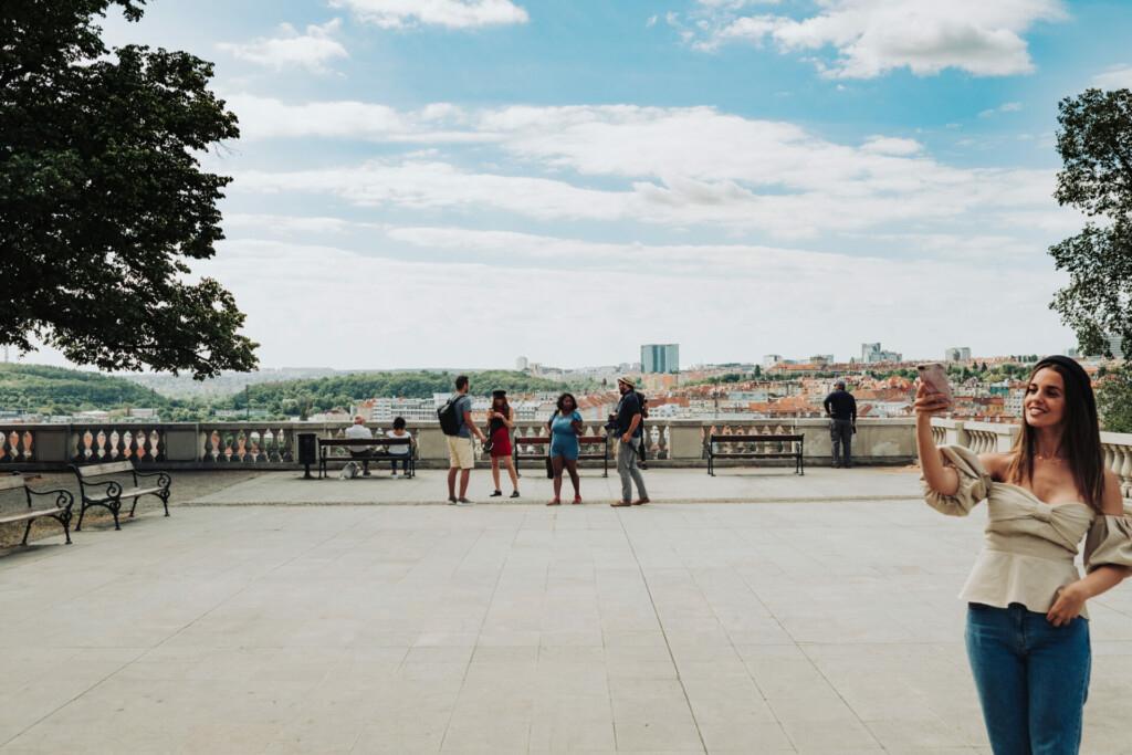 Havlíčkovy Park Prag Tschechien