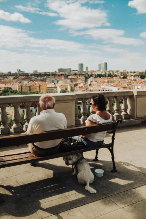 Havlíčkovy Sady Prag Tschechien