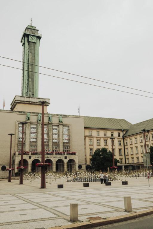 Neues Rathaus Ostrava Tschechien