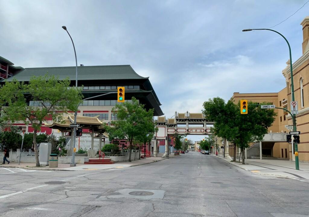 Chinatown Winnipeg Manitoba Kanada