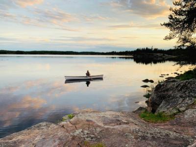 Seagrim Lakes Kanutour Twin River Travel Manitoba Kanada
