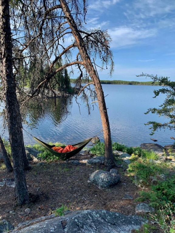 Seagrim Lakes Kanutour Twin River Travel Manitoba Kanada