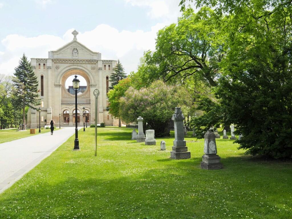 Saint Boniface Cathedral Winnipeg Manitoba Kanada