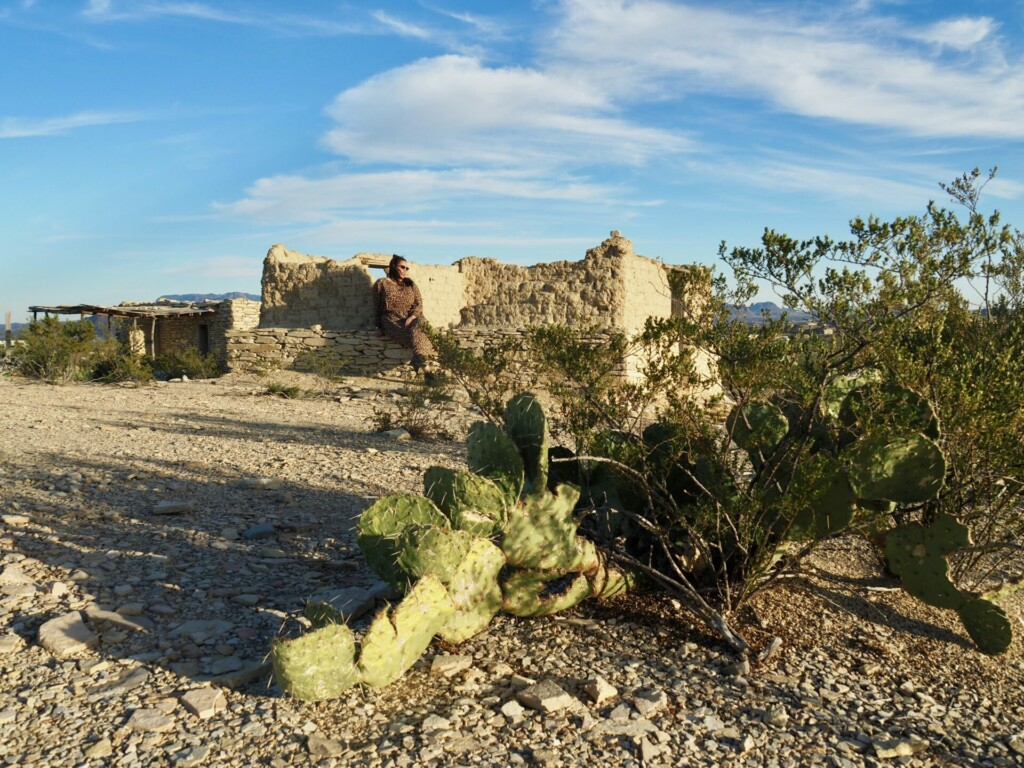 Ghost Town Terlingua Texas