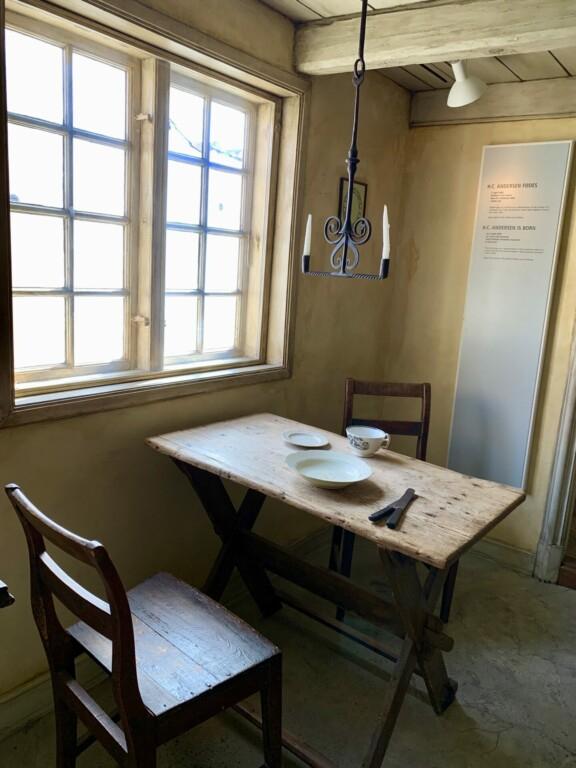 Hans Christian Andersen Geburtshaus Odense Denmark