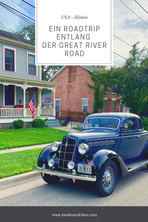 Roadtrip Great River Road Illinois USA Pinterest