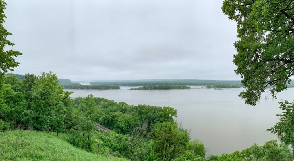Palisades State Park Mississippi Illinois USA