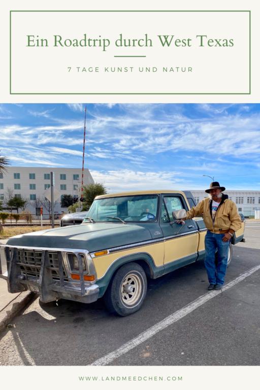 Roadtrip West Texas Pinterest