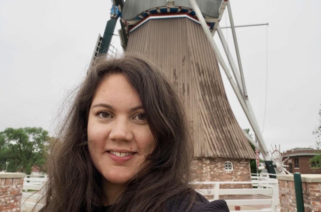 Evelyn De Immigrant Mill Fulton Illinois USA