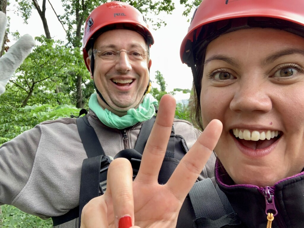 Evelyn Long Hollow Canopy Tours Galena Illinois USA