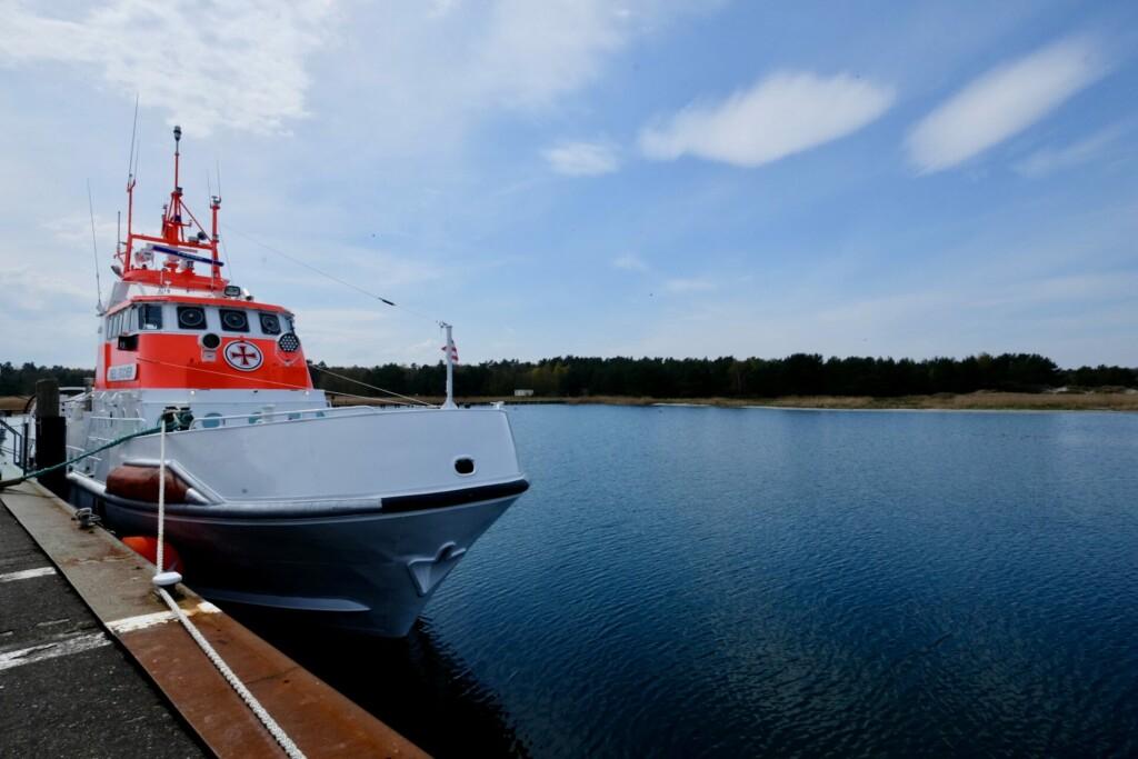 Nothafen Darß Ostsee
