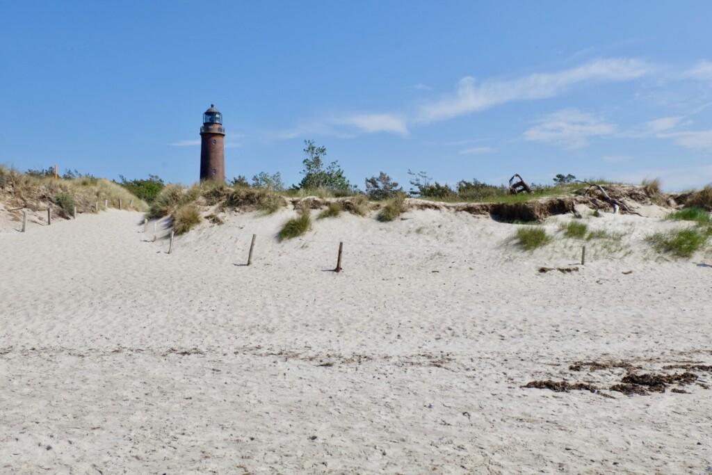 Darß Leuchtturm Weststrand Ostsee