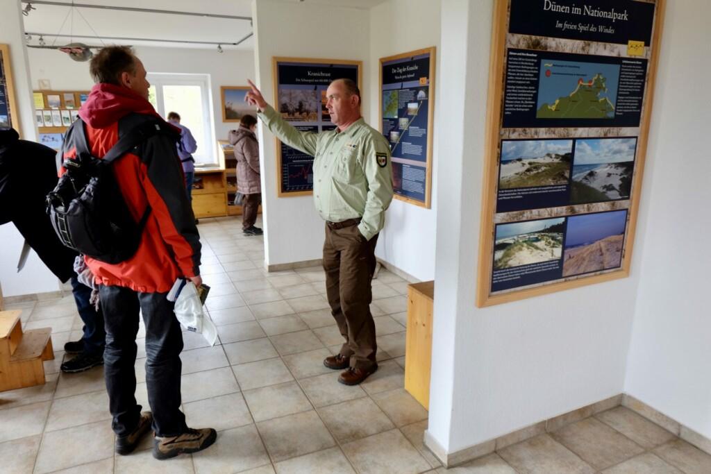 Informationsausstellung Nationalpark Vorpommersche Boddenlandschaft