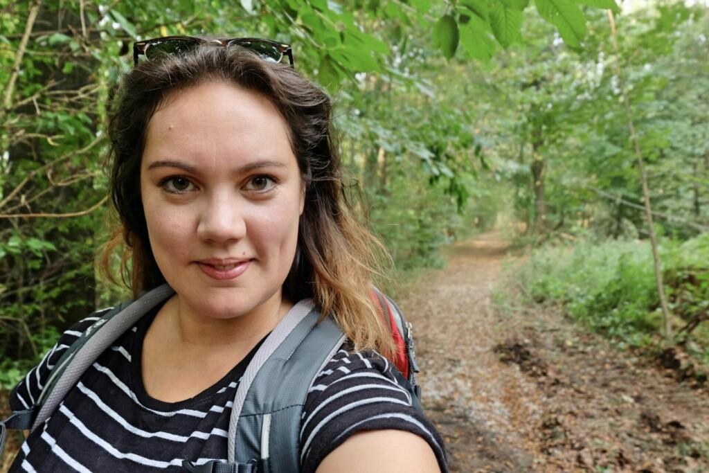 Evelyn Weserbergland-Weg wandern