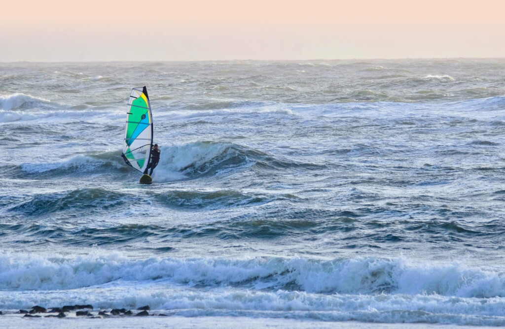 Sylt Westerland Nordsee Surfer