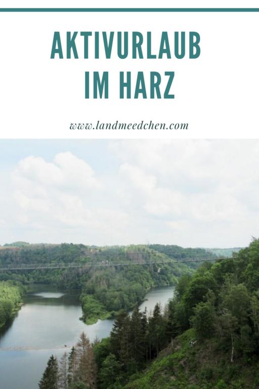 Aktivurlaub im Harz Pinterest