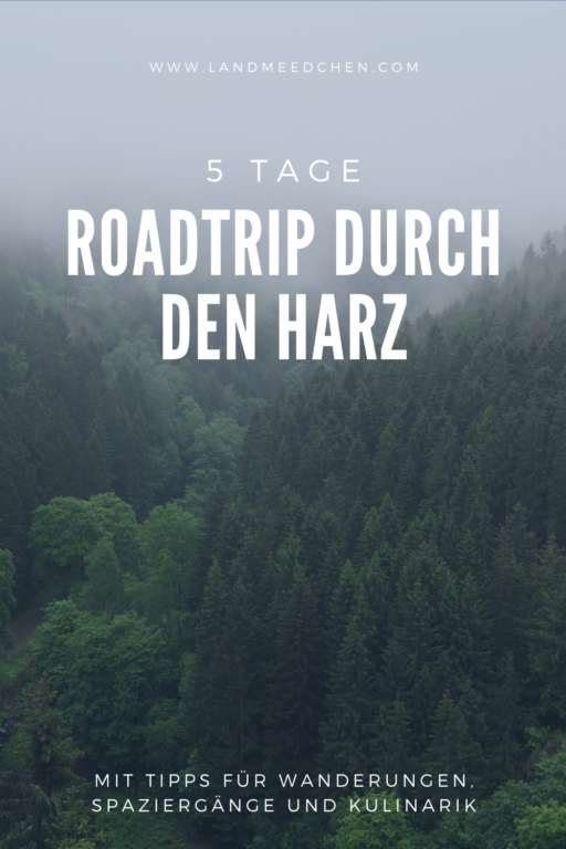 Roadtrip durch den Harz Pinterest