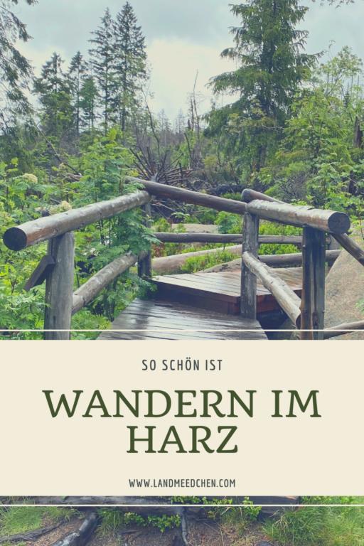 Wandern im Harz Pinterest