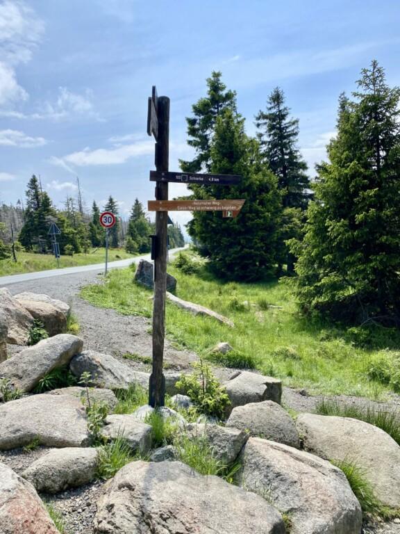 Eckerlochstieg Brocken Harz
