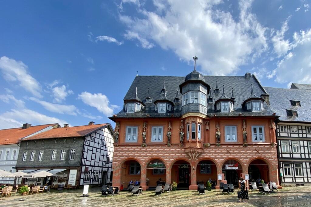 Marktplatz Goslar Harz